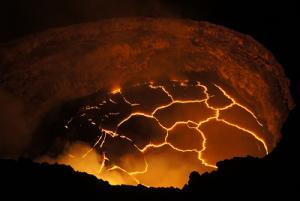 Кратер вулкана Килауэа на острове Гавайи