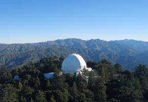 Обсерватория Маунт-Вилсон в Калифорнии