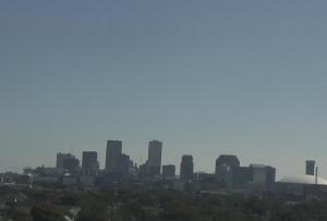 Панорама города Новый Орлеан в штате Луизиана