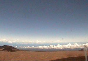 Веб камера телескопа CFHT, вид на северо-восток