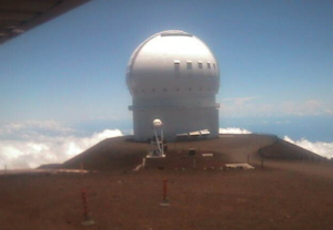 Веб камера телескопа CFHT, вид на север
