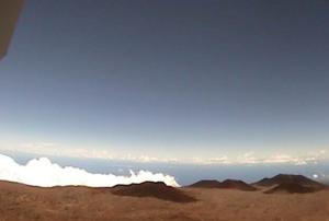 Веб камера телескопа CFHT, вид на северо-запад