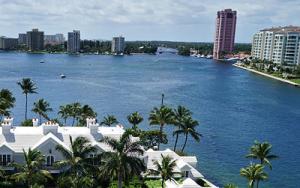 Панорама города Бока-Ратон в штате Флорида