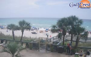 Отель Gulf Crest в городе Панама-Сити в штате Флорида