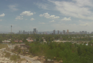 Панорама Лас-Вегаса в штате Невада