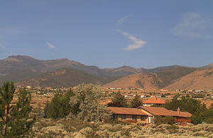 Гора Роуз в штате Невада