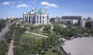 Театральный Парк в Астрахани
