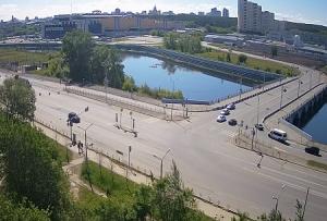 Улица Университетская Набережная в Челябинске