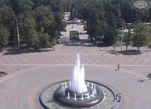Соборная площадь и Екатерининский сквер в Краснодаре