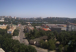 Панорама Владивостока в реальном времени
