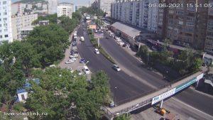 Проспект Красного Знамени во Владивостоке