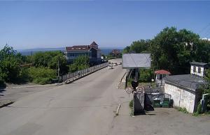 Казанский мост на Казанской улице во Владивостоке