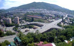 Панорама города Туапсе