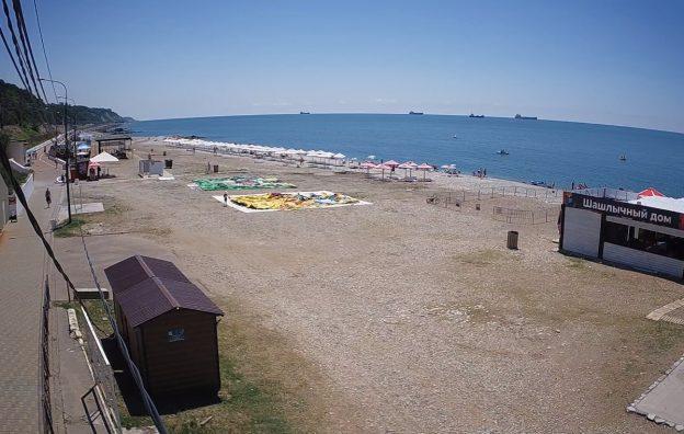 Центральный городской пляж Туапсе