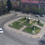 Площадь Ленина в Туапсе
