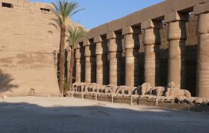 Карнакский храм в Египте