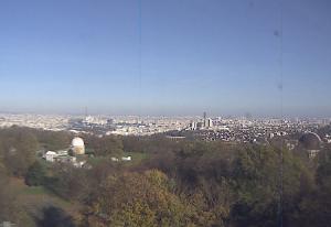 Парижская обсерватория в Мёдоне и панорама Парижа