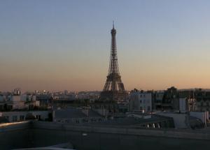 Панорама Парижа во Франции