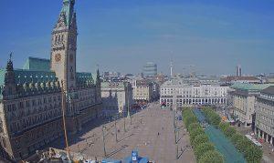 Главная площадь Гамбурга