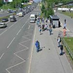 Пересечение улиц Попова и Ленина в Перми