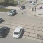 Перекресток улиц Мира и Советской Армии в Перми