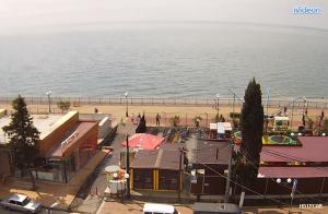 Набережная Адлера и Черное море