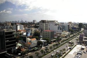 Деловой центр Хошимина во Вьетнаме