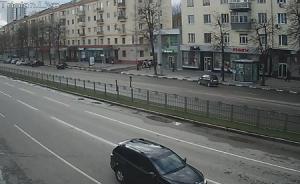 Проспект Ленина в Харькове на Украине