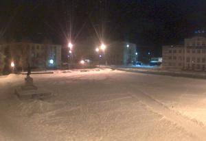 Главная Площадь города Невельск в Сахалинской области