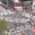 Перекрёсток Сибуя в Токио