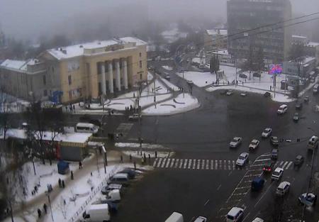 Перекресток улицы 50-летия Победы и проспекта Коцюбинского в Виннице