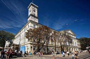 Городская Ратуша во Львове на Украине