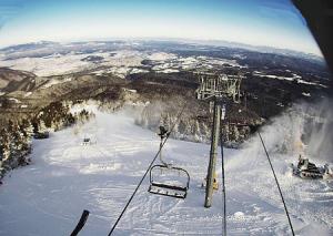 Зона катания Ястребец на горнолыжном курорте Боровец в Болгарии