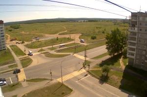 Перекресток улицы Дружинина и проспекта Уральский в Нижнем Тагиле