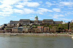 Будайская крепость в Будапеште в Венгрии
