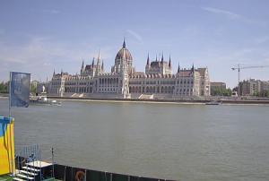Парламент в Будапеште в Венгрии