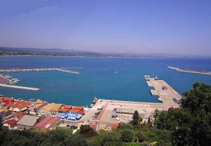 Порт Катаколон в Пиргосе в Греции
