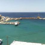 Гавань Бацион на острове Андрос в Греции