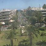 Площадь Элефтерия в Ханья на острове Крит в Греции