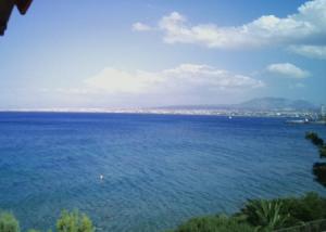 Залив Ираклион на острове Крит в Греции