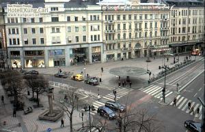 Площадь Стуреплан в Стокгольме в Швеции