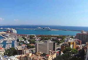 Порт города Пальма на острове Майорка