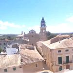Центр города Санта-Мария-дель-Ками на острове Майорка в Испании
