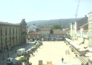 Главная площадь города Селанова в Испании