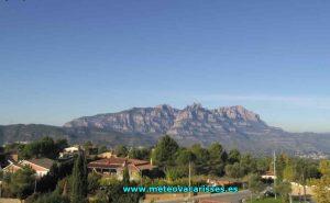 Гора Монсеррат в Каталонии в Испании