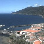 Город Повоакао на острове Сан-Мигель в Португалии