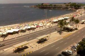 Набережная Авенида Атлантика в Рио-де-Жанейро
