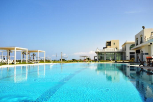 Отель Aphrodite Beachfront в городе Гюзельюрт на Северном Кипре