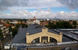 Рынок Халес в Вильнюсе в Литве