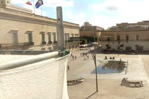 Площадь Святого Георга в городе Валлетта на Мальте